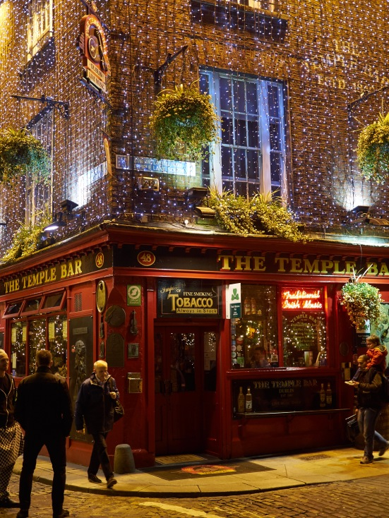 Famous Temple bar, at least for tourists